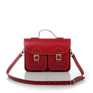 OldSchool Bags schooltas & aktetas - Small versie - rood