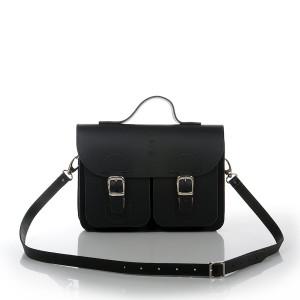 OldSchool Bags schooltas & aktetas - Small versie - zwart